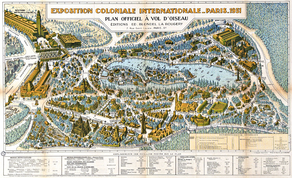Exposition coloniale 1931 clioweb le blog for Expo jardin paris