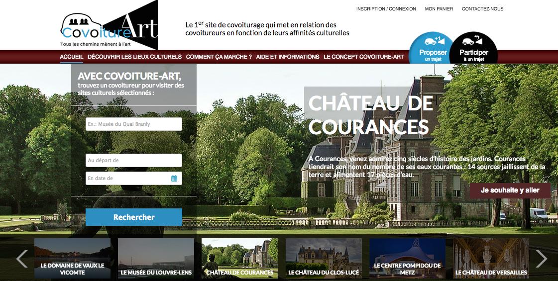 Screenshot Château de Courances
