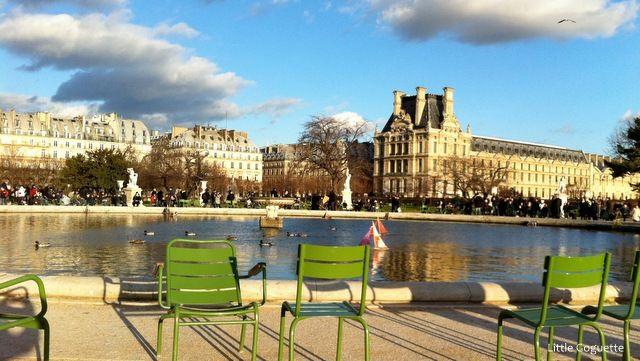 Tuileries un dimanche de grand soleil