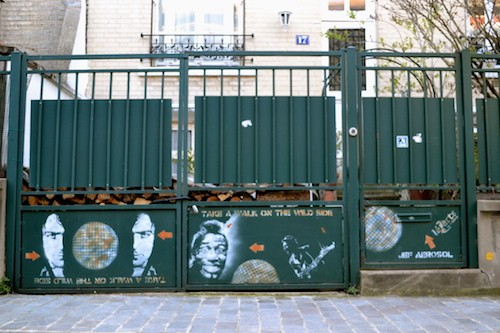 Villa Daviel - streetart
