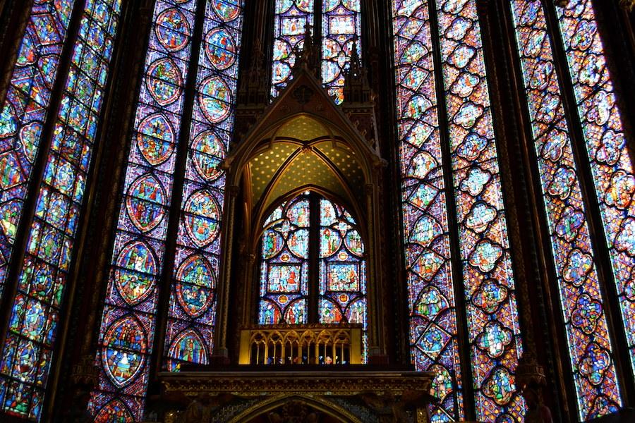 Chaire chapelle haute
