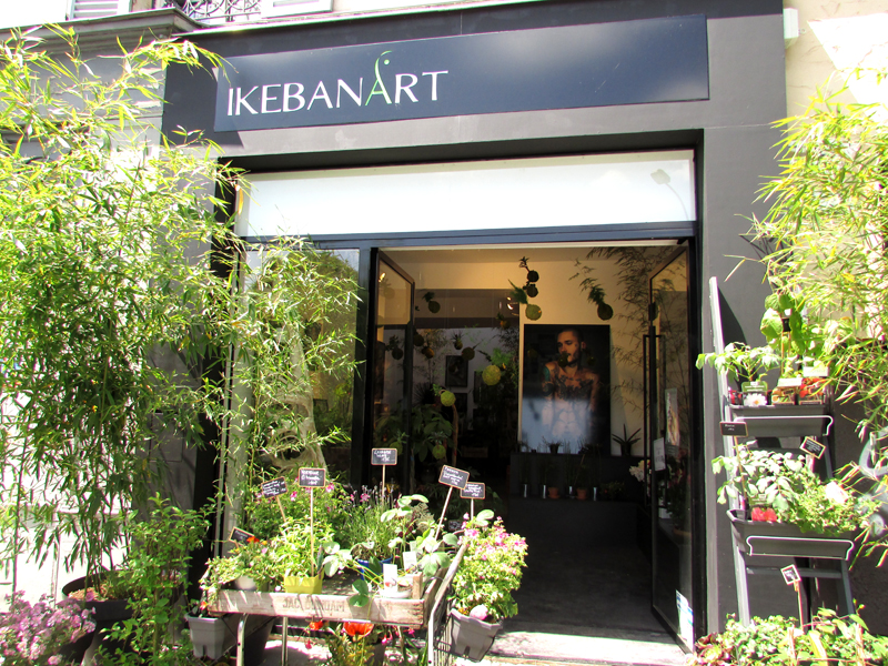 ikebanart l art floral japonais paris paris sur un fil. Black Bedroom Furniture Sets. Home Design Ideas