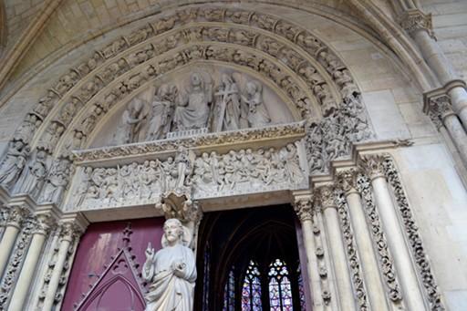 Portail chapelle haute