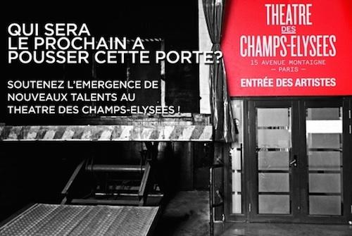 Théâtre des Champs-Elysées Nouveaux Talents