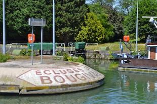 Balade en Seine - Ecluse Bougival