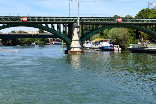 Balade en Seine - Pont