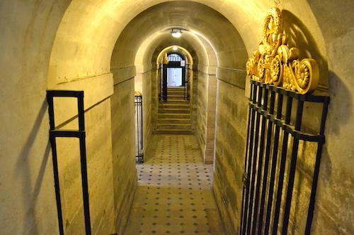 Crypte chapelle expiatoire