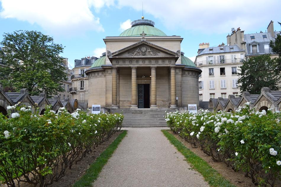 Jardin chapelle expiatoire