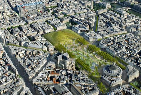 Nouveau forum halles de Paris