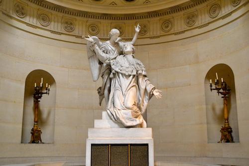 Statue Louis XVI Chapelle expiatoire