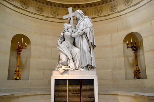 Statue Marie-Antoinette Chapelle expiatoire
