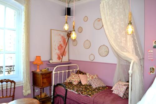 Chambre rose - Pavillon des canaux