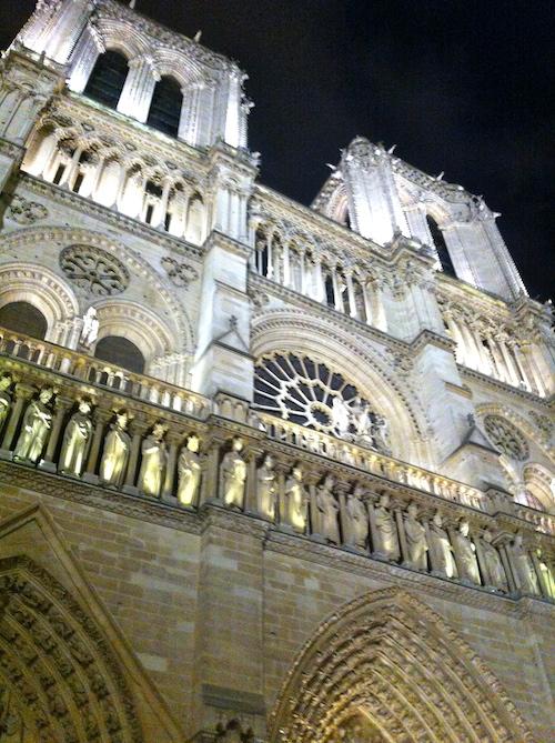 Façade de Notre-Dame - Paris à pas contés 2