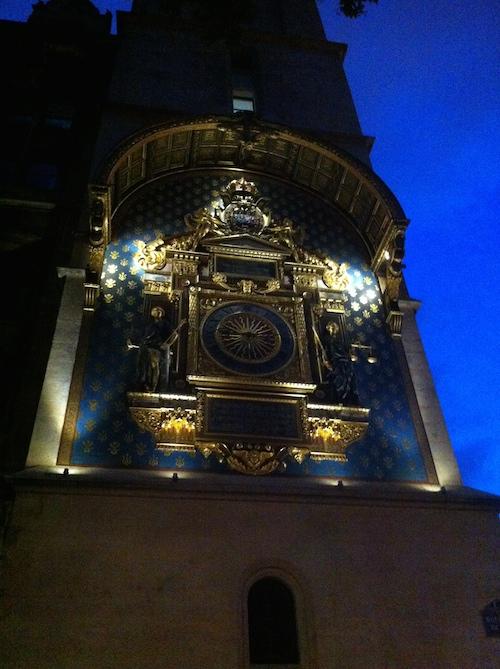 La plus vieilles horloge de Paris - Paris à pas contés