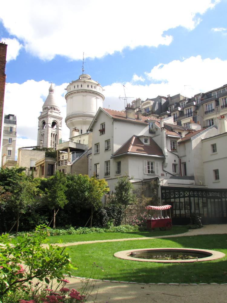 Le mus e de montmartre et son jardin renoir paris sur un fil - Les jardins de montmartre ...