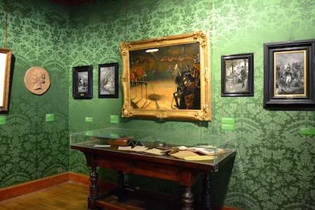 Victor Hugo - salle verte tableaux