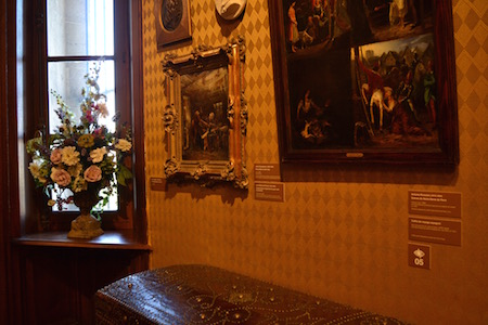 Victor Hugo - tableau et vase