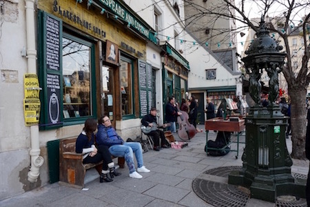 Shakespeare & Co café 3