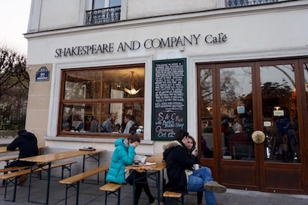 Shakespeare & Co café 4