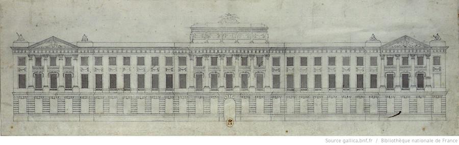 Projet hôtel palais quai de conti