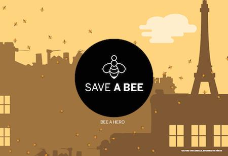 Save a bee be a hero - Monnaie de Paris