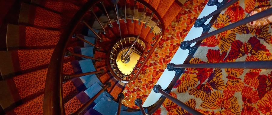 Escalier 2 - Dames du Panthéon