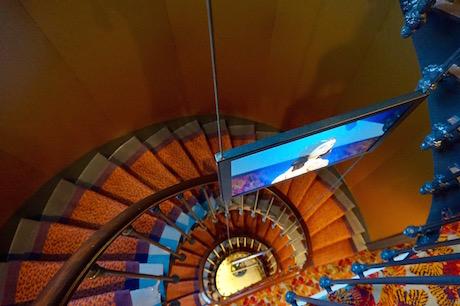 Escalier - Dames du Panthéon