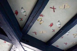 Plafond chambre 2- Dames du Panthéon