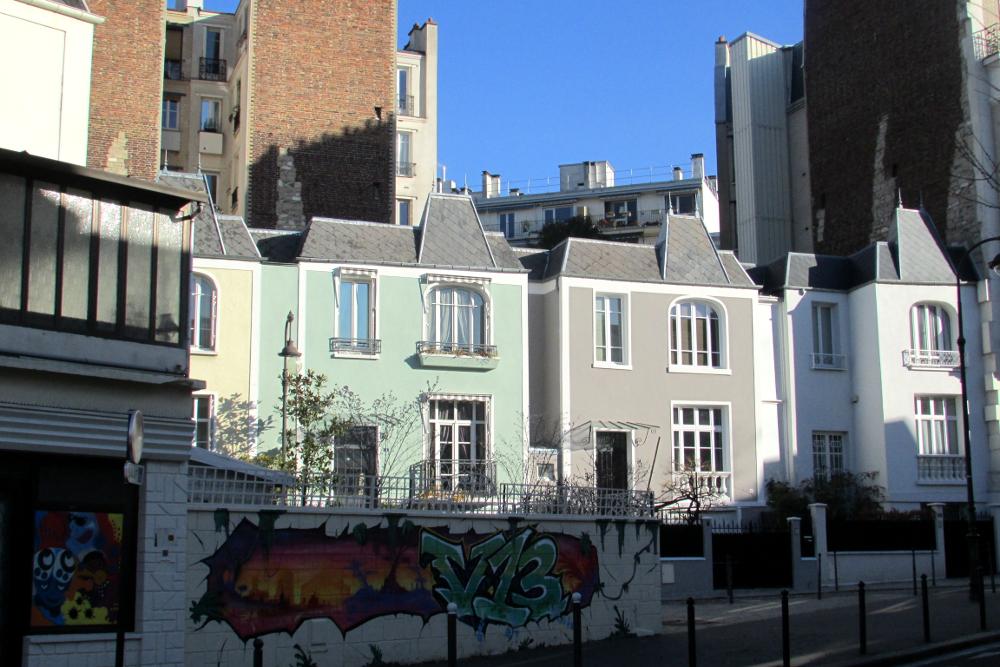 Balade dans le quartier de Maison Blanche • Paris sur un fil
