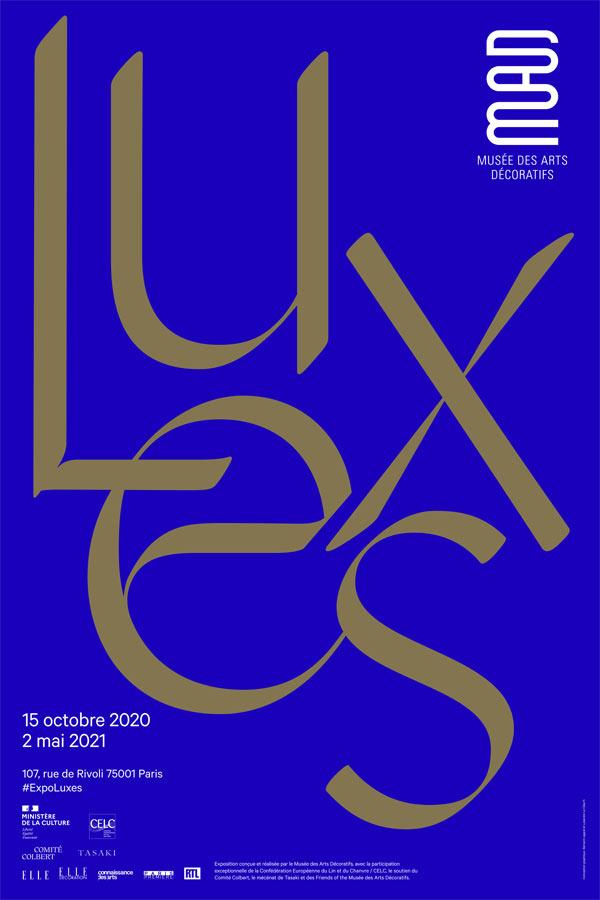 Expo LUXES : visite au musée des arts décoratifs par Loïc Prigent